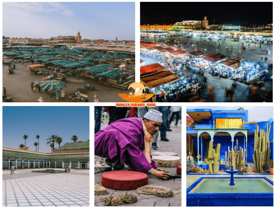 Best day trip to Marrakech from Casablanca | Morocco day trips