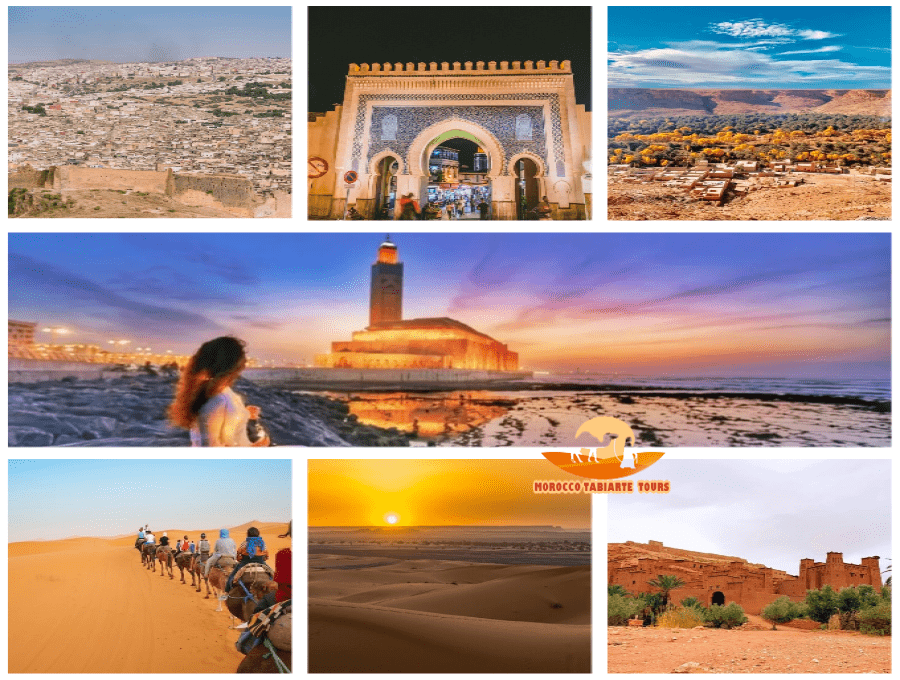 Gallery of morocco in 5 days itinerary from Casablanca to Sahara desert