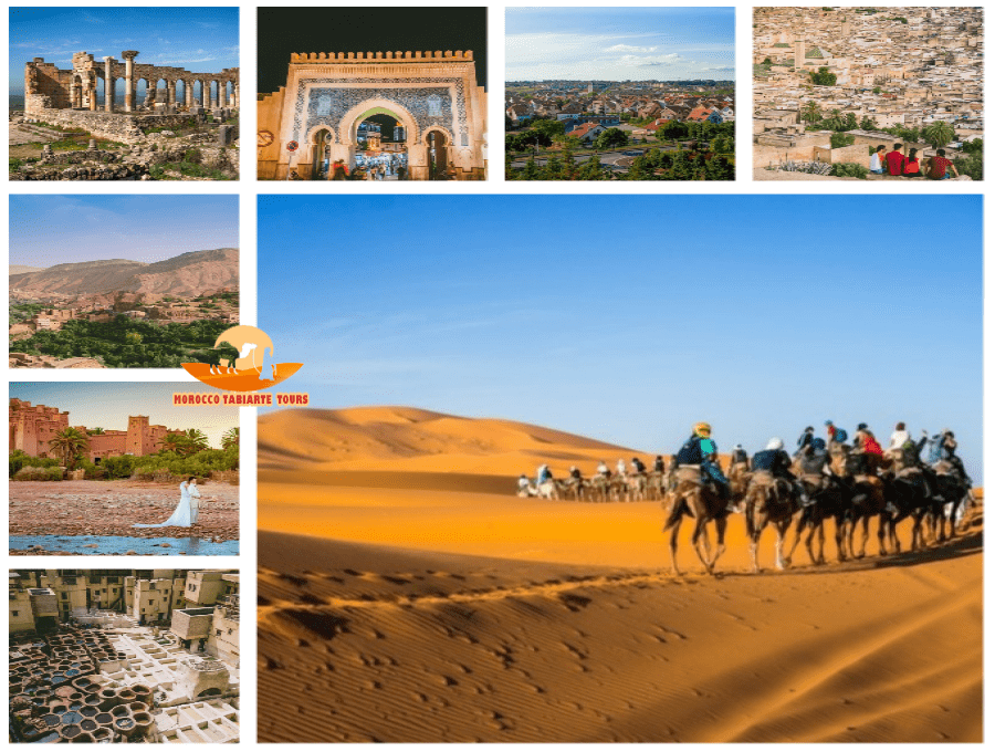 Gallery of 6 days in morocco tour itinerary from casablanca