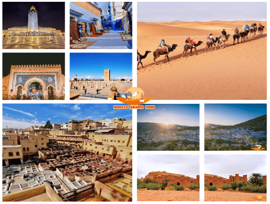8 days tours from Casablanca