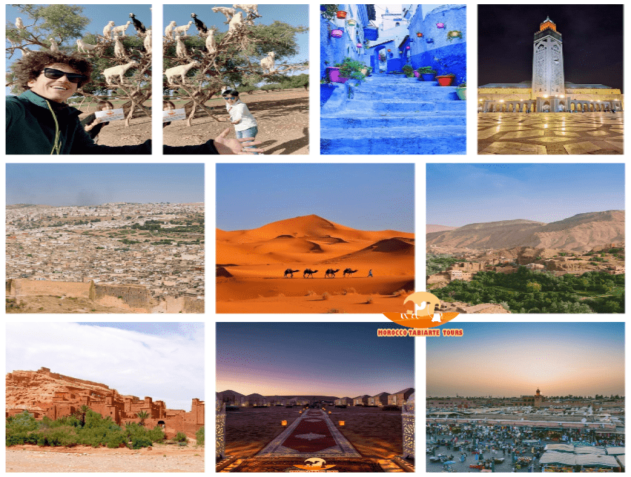 gallery of 11 days morocco tour itinerary from casablanca
