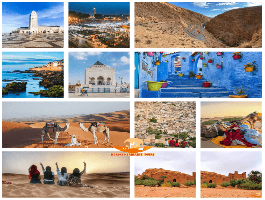 Gallery of itinerary from Casablanca