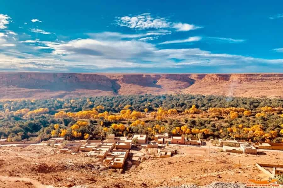 7 Days Holiday in Morocco tour Itinerary from Tangier via Sahara