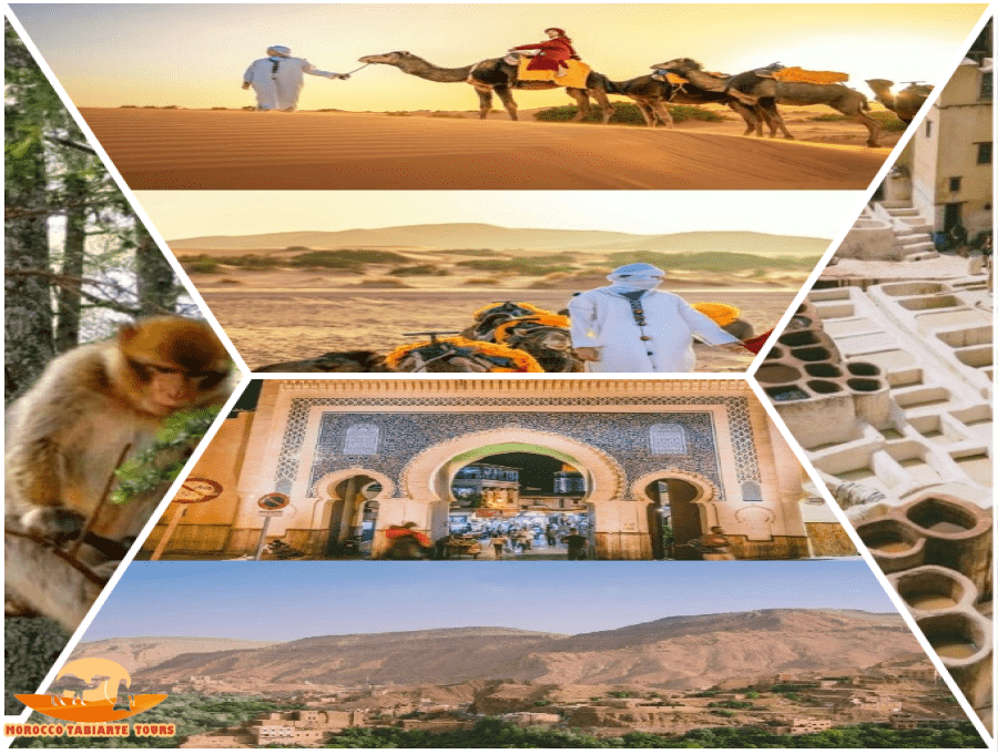 6 Days Morocco desert tour itinerary from Marrakech | 6 day Morocco trip