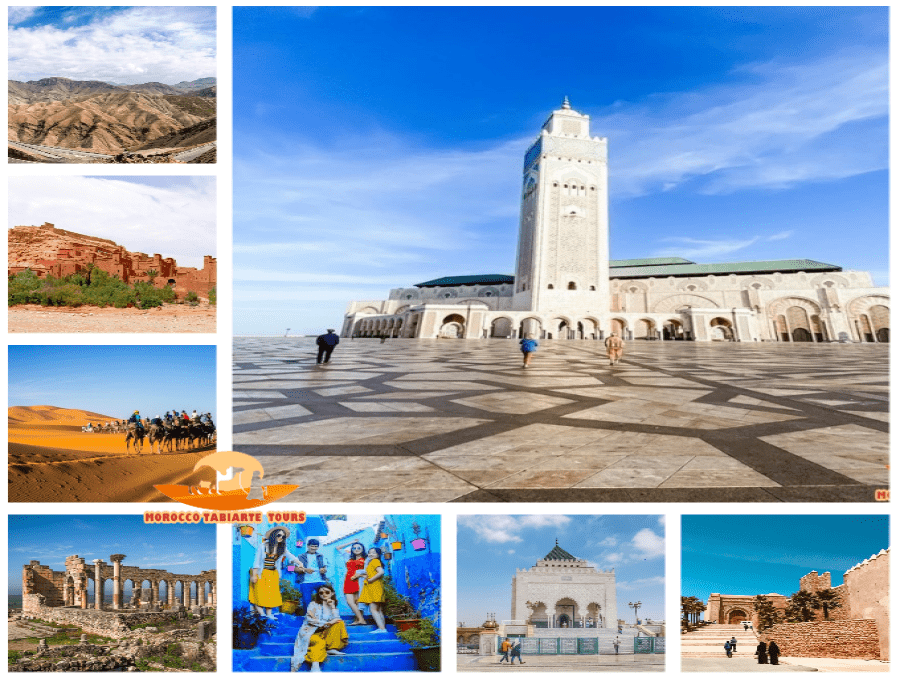 Gallery of 1 week tour in Morocco itinerary from Marrakech to Casablanca - 7 days