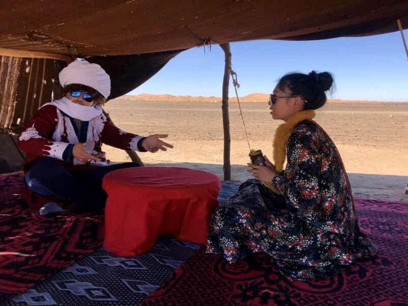 撒哈拉沙漠之旅4天