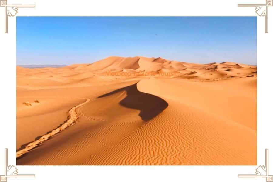 Moroccan Sahara Desert